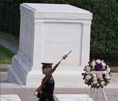 soldier on guard at Tomb of the Unknown Soldier